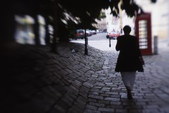 Hundertwasser pathway in Vienna