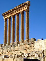 If you take one photo at Baalbek... (phool 4  XC) Tags: lebanon temple jupiter pagan لبنان romanruins heliopolis baalbek بعلبك بيتربروباخر phool4xcnetphotos phool4xc