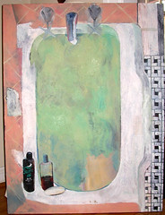 Bathtub (dgray_xplane) Tags: stilllife color art schilder painting artwork artist artgallery photos kunst paintings stlouis stilleben mo missouri artists painter bathtub saintlouis oilpaintings painters oilpainting artworks kunstenaar naturemorte xplane naturamorta davegray dgray dgrayxplane hetschilderen oliehetschilderen