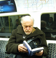 Timothy West on the London Underground 2