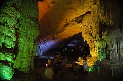 Ha Long Cave (tarotastic) Tags: vietnam ha long bay cave stalactite stalagmite