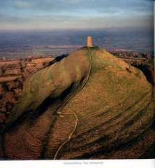 Glastonbury Tor.Mini-England Book (janet7r) Tags: glastonburytor glastonbury somerset landscape
