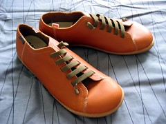 shoes (look around) Tags: camper spain espana shoe shoes brown elastic