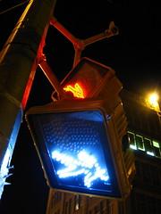 go (ConradLandais) Tags: nyc newyorkcity blue night walk harlem go photodotocontest1