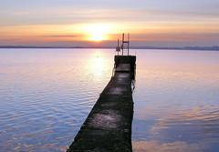 no swimmers today (beyond the pale) Tags: ireland winter sunset lake swim pier lough saveme deleteme10 irlanda irlande divingboard mullingar westmeath 750uz notpicked owel 73points olympus750uz challengeyouwinner