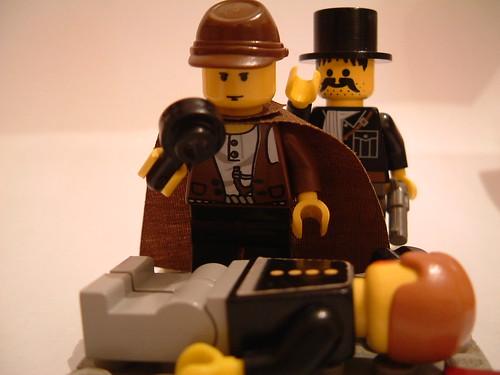 Sherlock Holmes LEGO version