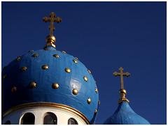 Church? (paul drzal) Tags: blue church wow bravo gutentag steeple philly