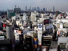 Shibuya (paul drzal) Tags: street travel japan skyline tokyo kyoto fuji shibuya nikko tuj shibuya109 shibuyaintersection shibuyaexcelhotel tokyoskylineview shibuyaskyline