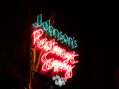 Johnson's Restaurant Supply (Curtis Gregory Perry) Tags: old light usa signs west color colour classic luz glass sign electric night america vintage portland restaurant licht us colorful neon pretty glow unitedstates state northwest bright lumire or tube tubes ne retro gas beaver american signage western electricity pacificnorthwest americans glowing instructions colourful dying electrical johnsons ore luce instruction muestra placard important advisory signe sinal supply neons oregonian  zeichen non segno  rosecity cityofroses    teken   portlander  beaverstate  glowed    neonic