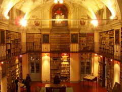 Library of the Abbey of Santa Croce in Gerusalemme