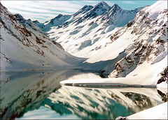 The Sound of Silence... (lapidim) Tags: chile mountain lake snow topf25 topf50 topv333 topv222 andes topv666 glaciar portillo lagunadelinca 100v10fv