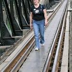 Amber on the bridge thumbnail