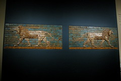 mesopotamia, iraq - babylon relief (Csbr) Tags: 2005 park travel winter sculpture newyork history museum asian december centralpark manhattan iraq relief baghdad babylon canonixus400 themet mesopotamia assyrian nebuchadnezzar heritagesite642