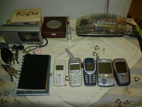 Mobile phones and notebooks by Adibi
