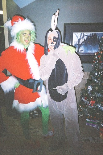 Grinch and Max in Lobby