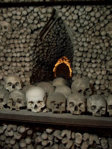 Sedlic Ossuary skulls