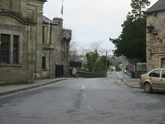 Donegal Town: Outside the Old Castle (bettlebrox) Tags: 2005 road christmas xmas family ireland house castle court town jeannie jean eire mum intersection courthouse walls mick donegal mammy xmasday donegaltown timony christmasday2005 donegalcastle courthhouse timonys irishmoments mickt