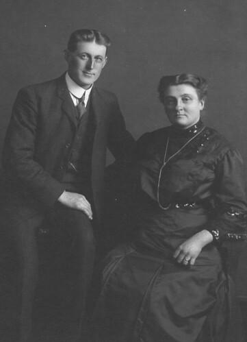 Uncle Mervin and Aunt Pora