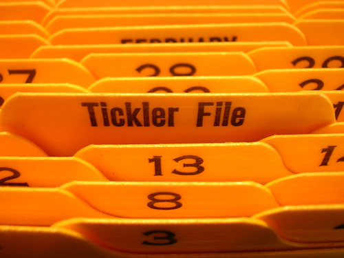 tickler file