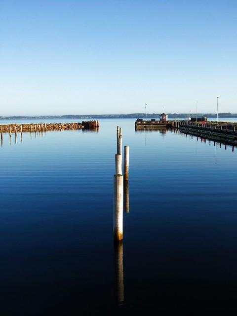 Tranquility in the harbour of Skarø / Beschaulichkeit im Hafen von Skarø