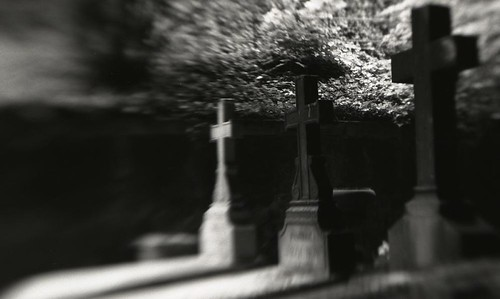 Three tombs in Montmartre