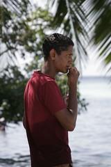 Bating The Hook (the_steve_cox) Tags: ocean sun holiday man indian maldives vilureef stevecox photoportunity photoportunitycom
