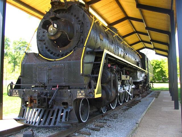 NC&StL Train, Centennial Park, Nashville