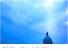 (Hello Rika) Tags: blue light sky singapore supremecourt notpicked
