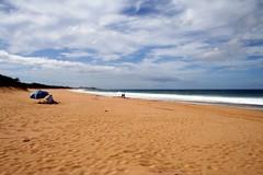 Molokai Papohaku Beach (Stephen P. Johnson) Tags: ocean 2 beach hawaii empty molokai seascap papohaku jan0601