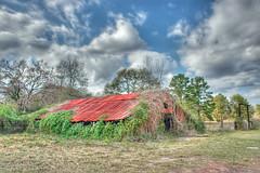 Covered Barn (Jeff Clow) Tags: bravo texas nikond70 explore apex blended hdr multiexposure jeffclow copyrightedbyjeffrclowallrightsreservednounauthorizedusageallowed