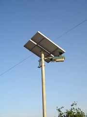Lampadaire solaire (mali.geekcorps) Tags: koro