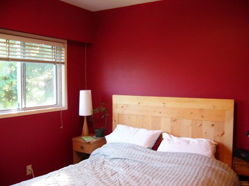 red bedroom. remarkable red wall painted color bedroom with