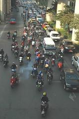 Ready, set, go! Go! Go! GO!! (Mrs Hilksom) Tags: traffic bangkok krungthep