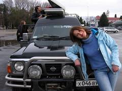 Good Jeep (okonetchnikov) Tags: trip snow snowboarding powder mountans