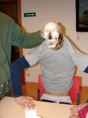 Der Tod im Speisesaal (austrianpsycho) Tags: death tod scull schädel