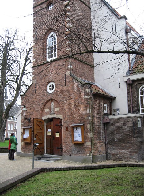 "Begijnhof, Engelse kerk / E for ""English church"""