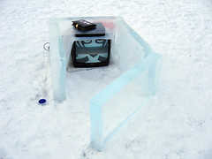 Ice blocks (emmetbyrne) Tags: art shanty projects