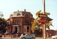 Lafontaine House, Windsor (southofbloor) Tags: houses house canada brick architecture fur french fire detroit disaster empire villa second windsor mansion unusual polygon destroyed demolished folly burned octagon lafontaine ruined germanic italianate mansard