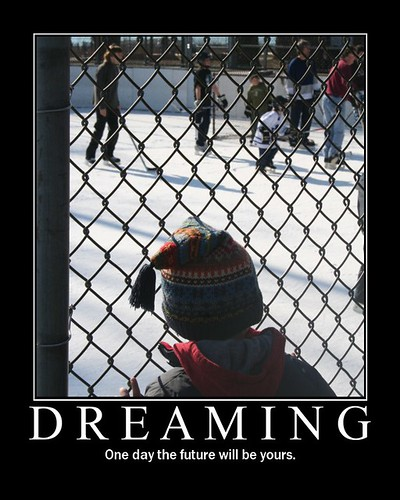 Dreaming - one day the future will be yours