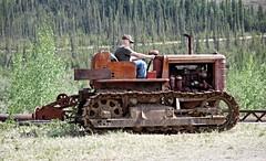 Boys and Their Toys - Alaska  (Explored) (JLS Photography - Alaska) Tags: travel tractor outdoor vehicle locomotive heavyequipment bulldozer docdoolittle alaskalandscape goldminingequipment jlsphotographyalaska