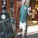 Half Slacker - Wax Restaurant Pitchman 4014