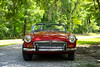 Octagon Spirit! (Jess of Many Trades) Tags: red classic car classiccar mg british mgb applered
