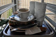 vardagsstress på cafet/everyday stress in the café . (ros-marie) Tags: disk stress fotosondag fs150531