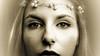 A demi-mots (Christine Lebrasseur) Tags: portrait people blackandwhite woman france eye art sepia canon 169 onwhite fr gironde léane saintloubes allrightsreservedchristinelebrasseur