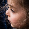 Dandelion's Child (Romi G) Tags: portrait color hair child eyelashes enfant couleur cheveux cils