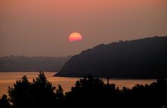 Red sunrise (Lorenoir) Tags: morning sky sun beautiful sunrise pentax goodmorning ischia k50 redsunrise vivara loredanavicario pentaxk50 sunriseatmosphere