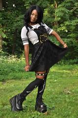 TACA_0103 (Beautiful Presence) Tags: hello portrait woman girl beautiful face pose model women shoes pretty kitty posing gamer kawaii piercings