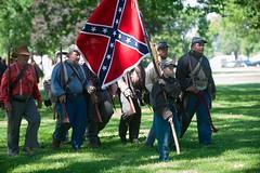 DKH_2518 (Dober Man) Tags: illinois war general days confederate civil civilwar jacksonville federal reenactment reenact grierson sigma70200mmf28exdgoshsm