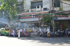 Seven-11 (shazell212) Tags: street city people urban thailand bangkok citylife 7eleven conveniencestores