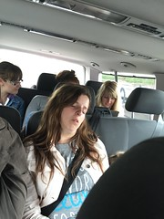 Emily asleep (Elysia in Wonderland) Tags: birthday sleeping paris france car june lucy emily sleep disneyland asleep elysia transfers